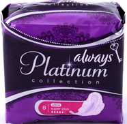 Прокладки Always Ultra Platinum Collection Super Plus №8