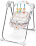 Электронные качели Chicco Polly Swing Up Flower Pow