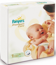 Подгузники Pampers Premium Care 2-5 кг 78шт