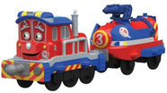 Паровозик Калли с прицепом Chuggington Die-Cast LC54126
