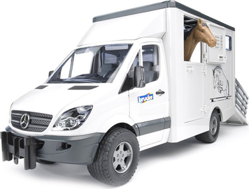 Фургон Mercedes-Benz Sprinter с лошадью Bruder