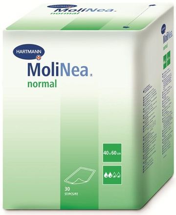 Пеленки Molinea Normal Paul Hartman 40x60 см, 30 шт