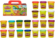 Набор пластилина Play-Doh Hasbro (Плей До Хасбро) 20 банок