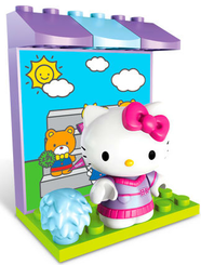 Игровой мини-набор Hello Kitty Хобби Mega Bloks (Мега Блокс)