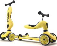 Самокат-каталка Scoot&Ride Highway Kick 1 с сиденьем 2 в 1