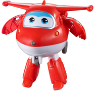 Супер-трансформер Джетт Супер Крылья (Super Wings) 18см