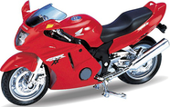 Модель мотоцикла 1:18 Honda CBR1100XX Welly