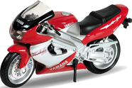 Модель мотоцикла 1:18 MOTORCYCLE / YAMAHA 2001 YZF1000R THUNDERACE Welly
