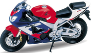 Модель мотоцикла 1:18 MOTORCYCLE / HONDA CBR900RR FIREBLADE Welly