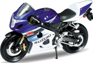 Модель мотоцикла 1:18 MOTORCYCLE / SUZUKI GSX-R750 Welly