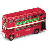 Модель автобуса 1:60-64 London Bus Welly
