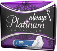 Прокладки Always Ultra Platinum Collection Night №7