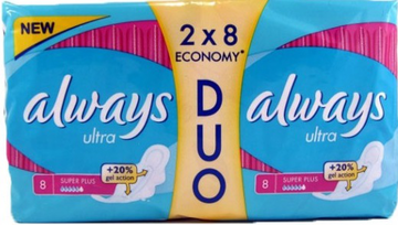 Прокладки Always Ultra Super Plus Duo №16
