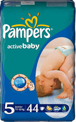 Подгузники Pampers Active Baby 11-18 кг 44шт
