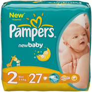 Подгузники Pampers New Baby 3-6 кг 27 шт