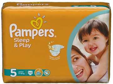 Подгузники Pampers Sleep and Play 11-18 кг 42шт