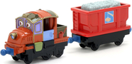 Паровозик Ходж с прицепом (вагон) Chuggington Die-Cast