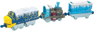 Паровозик Брюстер и 2 вагончика в инее Chuggington Die-Cast