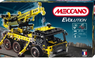 Конструктор Meccano Evolution, набор «Автокран», 2 модели